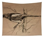 Magpie Sketch Tapestry