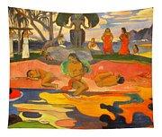 Mahana No Atua Aka. Day Of The Gods Tapestry