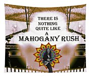 Mahogany Rush Art Tapestry