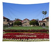 Main Quad Stanford California Tapestry