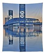 Main Street Bridge Jacksonville Florida Tapestry