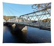 Main Street Bridge Shelbourne Falls  Tapestry