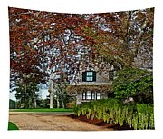 Maine Cottage In Spring Tapestry