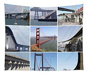 Majestic Bridges Of The San Francisco Bay Area Tapestry