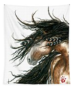 Majestic Pinto Horse 80 Tapestry