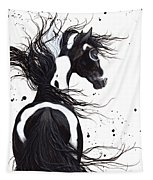 Majestic Pinto Horse Tapestry