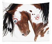 Majestic Pinto Horse 129 Tapestry