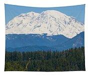 Majestic Rainier Tapestry