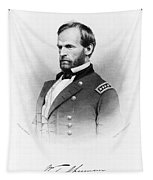 Major General William T Sherman Tapestry