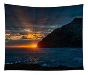 Makapuu Sunrise Tapestry