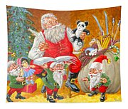 Making A List Checking It Twice Tapestry