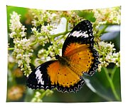 Malay Lacewing Butterfly  Tapestry