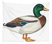 Mallard Duck Tapestry