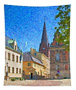 Malmo Stortorget Painting Tapestry