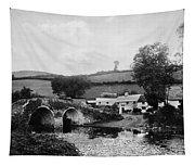 Malmsmead Bridge, C1900 Tapestry
