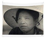 Mama San Pleiku Central Highlands Vietnam 1968 Tapestry