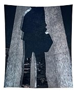 Man With A Briefcase Tapestry