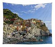 Manarola Italy Dsc02563  Tapestry