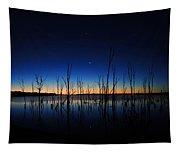 Manasquan Reservoir At Dawn Tapestry