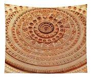 Mandala - Jain Temple Ceiling - Amarkantak India Tapestry