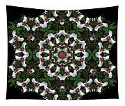 Mandala Trillium Holiday Tapestry