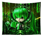 Manga Matrix Tapestry