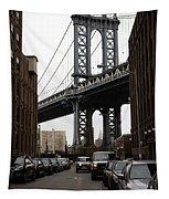 Manhattan Bridge View Tapestry