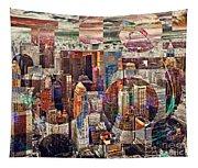 Manhattan Sunrise Tapestry