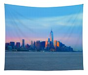 Manhattan In The Morning Tapestry