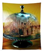 Manhattan Under The Dome Tapestry