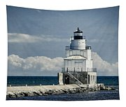 Manitowoc Breakwater Lighthouse Tapestry
