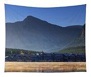 Many Glacier Hotel Tapestry
