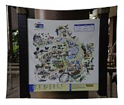 Map Of The Jurong Bird Park Along With A Tourist Tapestry