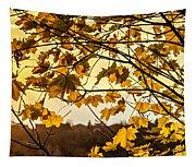 Maple Sunset Tapestry