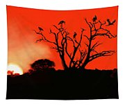 Marabou Tree Tapestry