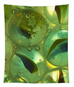 Marbles Cat Eyes Soda 1 D Tapestry