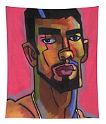Marco With Gold Chain Tapestry by Douglas Simonson