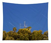 Marconi Radio Tower Tapestry