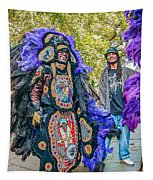 Mardi Gras Indian Tapestry