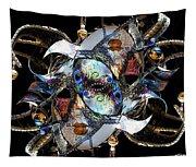 Mardi Gras Medusa Tapestry