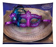 Mardi Gras Theme - Surprise Guest Tapestry