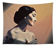 Maria Callas Painting Tapestry