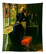 Mariana In The Moated Grange 1851 Tapestry