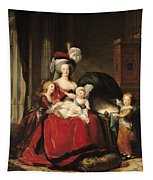 Marie Antoinette And Her Children Tapestry For Sale By Elisabeth Louise Vigee Lebrun