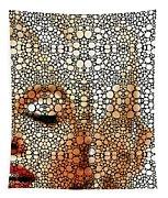 Marilyn Monroe - Stone Rock'd Art Painting Tapestry