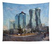 Marilyn Monroe Towers Tapestry