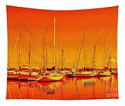 Marina Reflections Tapestry