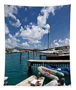 Marina St Thomas Virgin Islands Tapestry