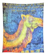 Mark 10 25 Tapestry