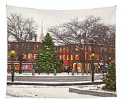 Market Square Christmas - 2013 Tapestry